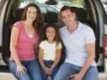 Podróż samochodem z rodziną