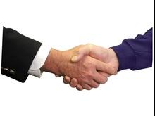 Ręka na powitanie