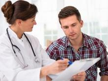 Badanie zdrowia mężczyzny