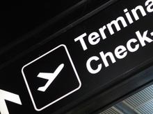 Lotnisko - terminal check-in