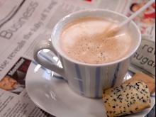 Kawa przy pracy