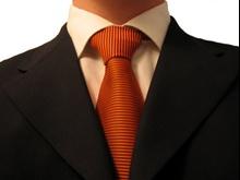Mężczyzna w krawacie