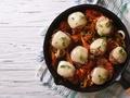 Pomysł na świąteczny obiad, czyli pyszne pulpety drobiowe z duszonymi warzywami i żółtym serem!