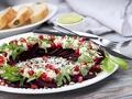 Zdrowy smak natury:  Przepis na Carpaccio z buraków z hummusem