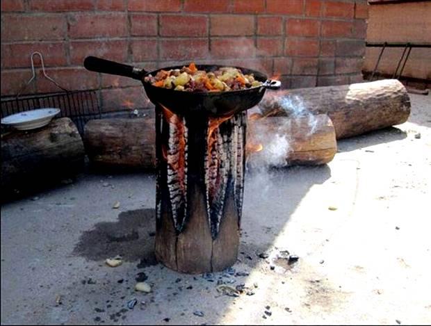 Gotowanie na drewnie
