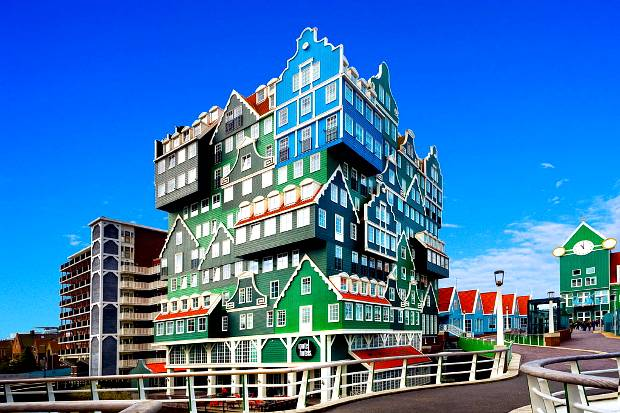 Hotel Inntel Zaandam w Amsterdamie