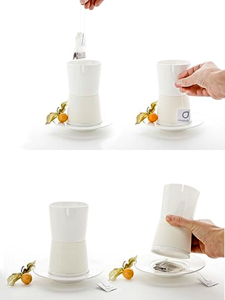 Praktyczny zestaw do herbaty