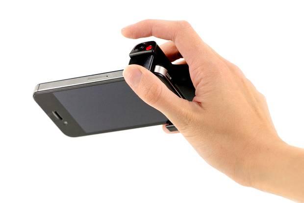 Spust migawki do iPhone
