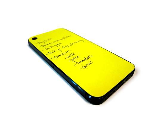 Notatki na iPhone