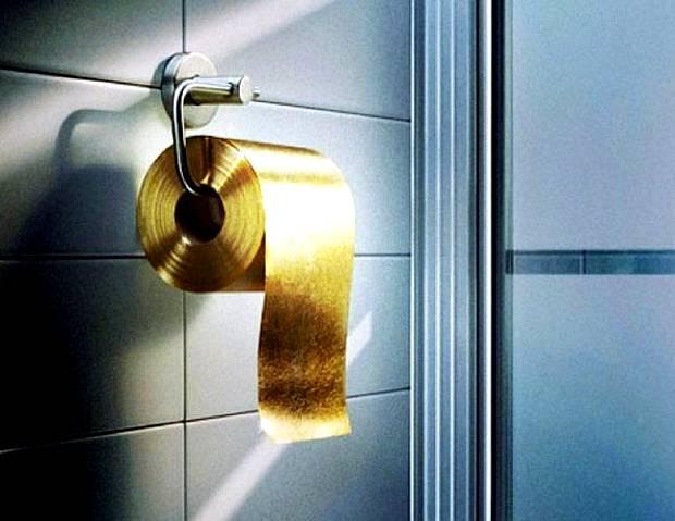Papier toaletowy dla bogaczy