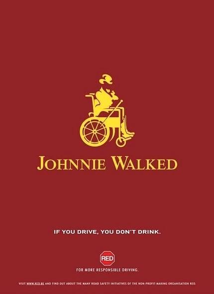 Johny Walker kiedyś chodził ...