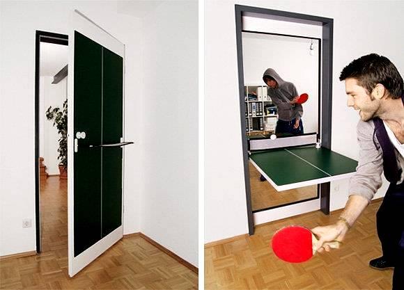 Ping pong w małym mieszkaniu