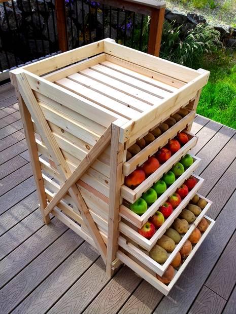 Półki na warzywa i owoce