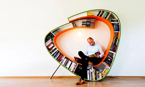 Kącik do czytania książek