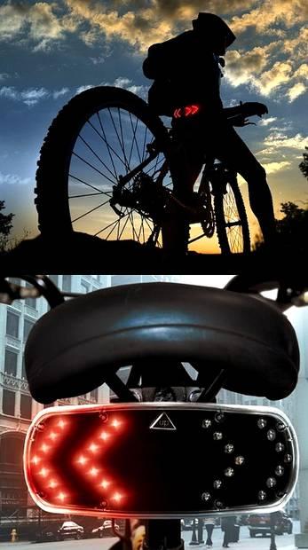 Bezprzewodowe kierunkowskazy w rowerze