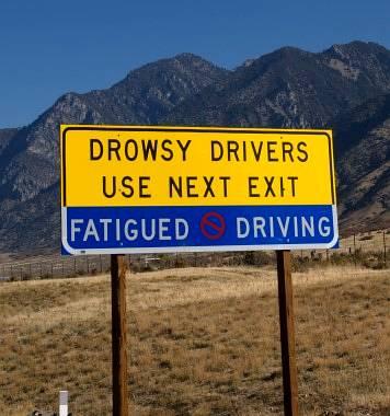 Senność jak jazda pod wpływem alkoholu