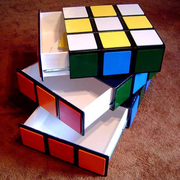 Komoda z kostki Rubika