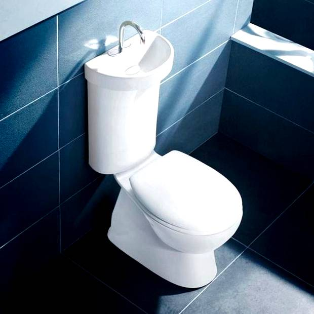 Eko toaleta z umywalką