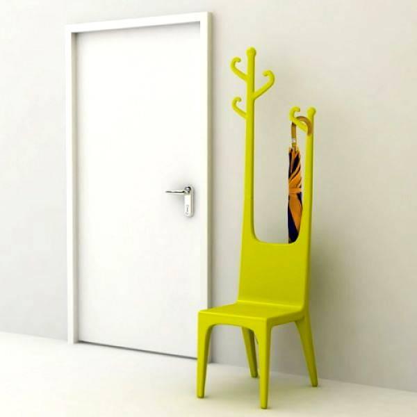 Wieszak na krześle