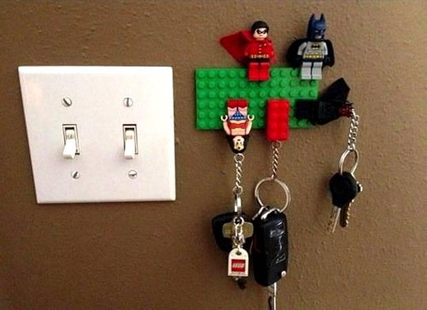 Wieszak na klucze LEGO