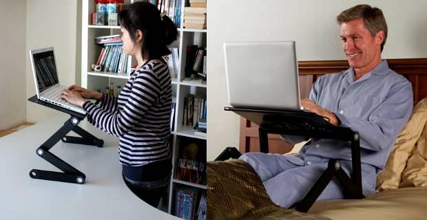Wygodna praca na laptopie