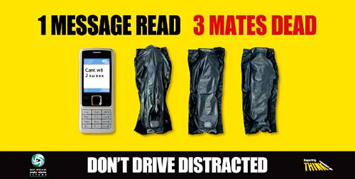 SMSy i prowadzenie samochodu